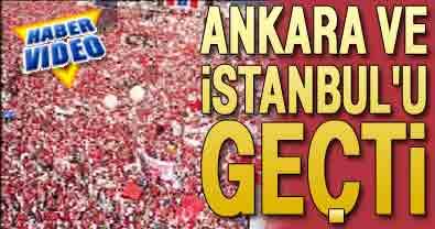 Tandoğan'ı geçti