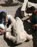Roma hamamından Hermes heykeli çıktı!