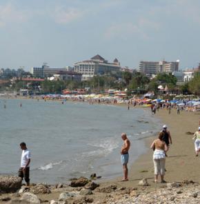 Bayramda otellere yerli turist akını
