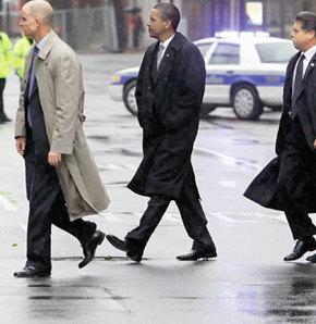 Obama böyle korunuyor