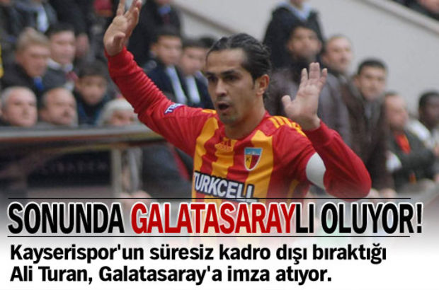 Sonunda Galatasaraylı oluyor!