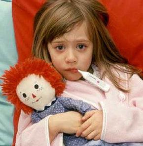 Baharda çocuk hastalıkları arttı