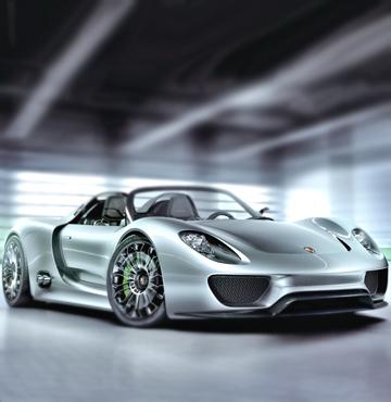 Porsche de ekoloji rüzgarına kapıldı
