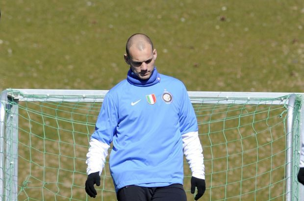 Sneijder Livorno maçında yok!