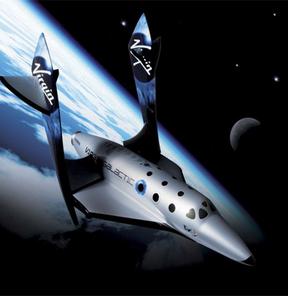 Çölde uzay gemisi