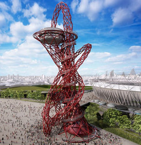 Londra'ya 'Nargile Kulesi'