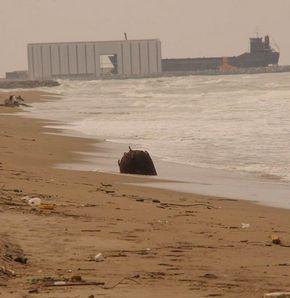 Karasu'da kıyıya