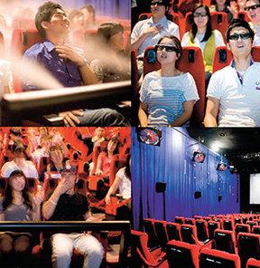 Seul�deki  4D Sinema Salonu