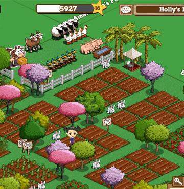 Gerçek hayatta Türk işi Farmville zamanı