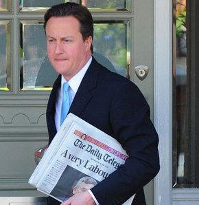 İngiltere'nin yeni lideri David Cameron