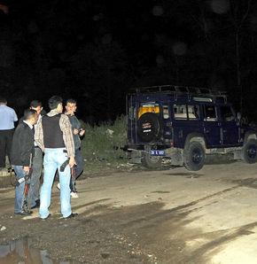 Giresun'da polis otosuna saldırı!