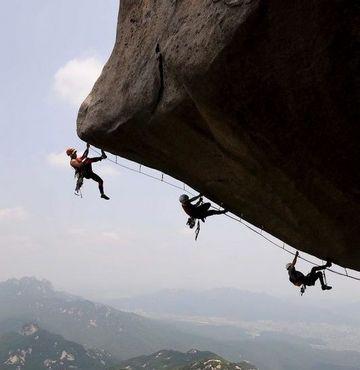 Küçük dağcının yaşam mücadelesi