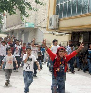 'Cinsel istismar' protestosu: 9 gözaltı