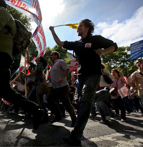 Avrupa'da ortak grev hareketi