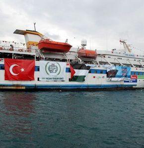 'Mavi Marmara'da 800 yolcu var