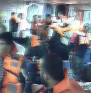 Kaptan saldırı anında Türkiye ile temas kurdu