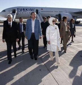 Erdoğan dönüyor