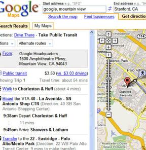 Google'dan tarif aldı ve arabaya çarptı!