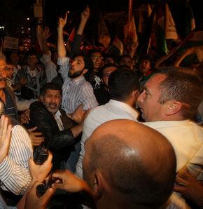 İsrail Başkonsolosluğu'na saldırı