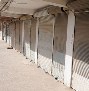 Cizre'de kepenkler Öcalan için açılmadı
