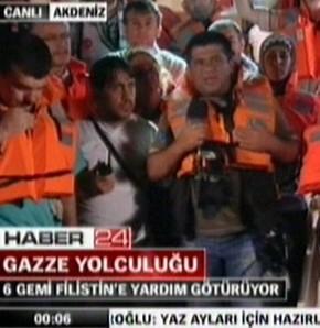 Habertürk Muhabiri gözaltında tutuluyor