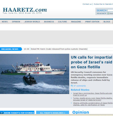 Haaretz'den hükümete ağır eleştiriler…