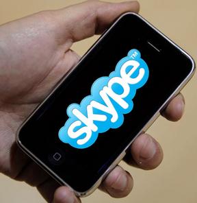 Skype'tan 3G uyumlu yeni iPhone uygulaması
