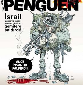 İsrail'in saldırısı kapaklarda