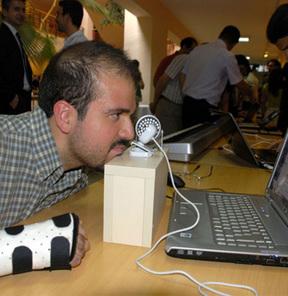 Gözle çalıştırılan 'sanal fare'