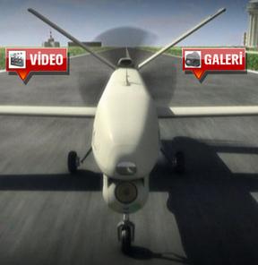 Türk yapımı insansız uçak! GALERİ
