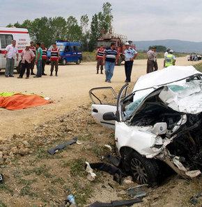Gelibolu'da kaza: 4 ölü