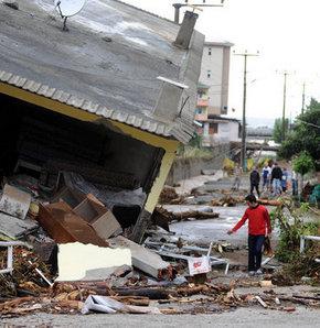 Rize'de şiddetli yağış: 12 ölü