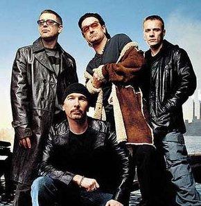 U2'nun en iyi şarkıları SD kartta