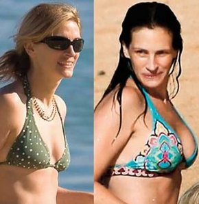Julia roberts real tits