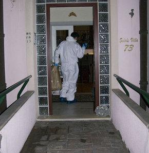 Karabulut cinayetinin olay yeri görüntüleri izlendi