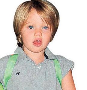 Kızı, Brad Pitt'in kopyası