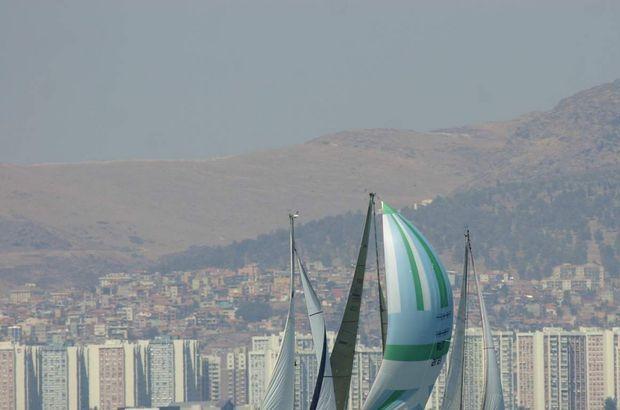 Yelken yarışları başladı!