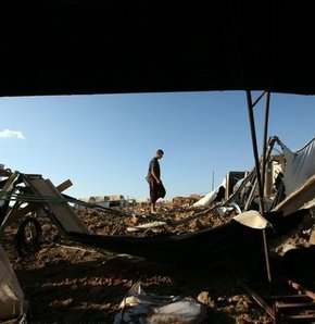 Gazze Şeridi'nden fosfor mermisi