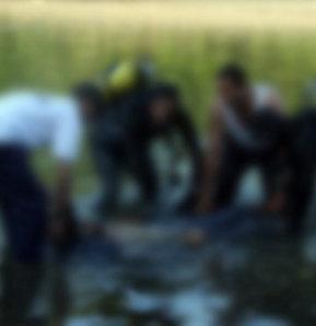 Meriç Nehri'nde kimliği belirsiz bir ceset bulundu