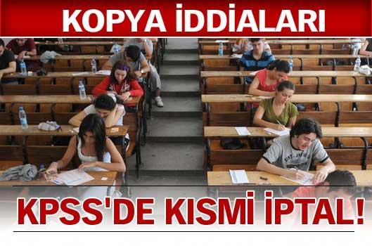 İPTAL OLAN SINAVLARIN TARİHLERİ!