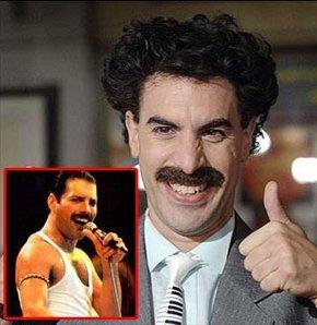Freddie Mercury rolü Borat'ın