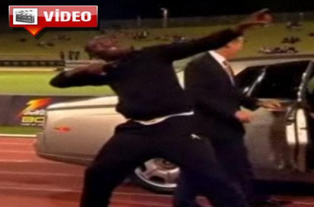 Bolt Michael Jackson'a özendi!