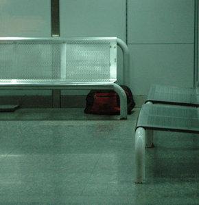 AŞTİ'de şüpheli çanta paniği
