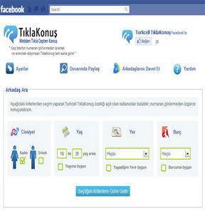 Facebook'tan tıkla cepten konuş!