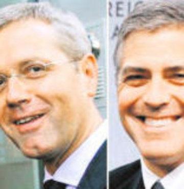 Alman, siyasetinin George Clooney'yi