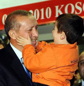 Erdoğan'a Kosova'da büyük ilgi