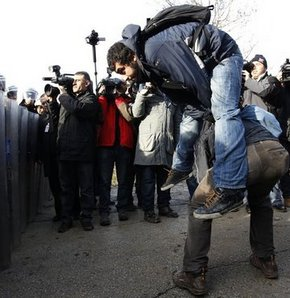 ODTÜ'de Başbakan protestosu