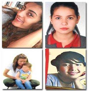 4 Genç Kız Ölümü Seçti...