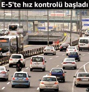 İstanbul E-5 Yolunda RADAR!
