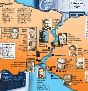 İstanbul'un edebiyat haritası